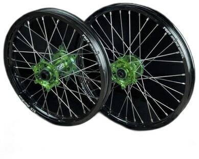 【希少!!】 TGR TECHNIX GEAR TGRテクニクスギア TYPE-R Motocross(モトクロス)用ホイール(前後セット) KLX450R KX250 KX450F, ユノマエマチ e6c8afed