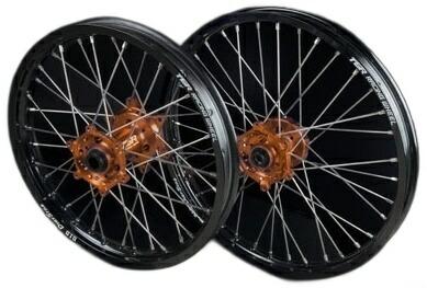 【正規通販】 TGR TECHNIX TECHNIX TYPE-R GEAR GEAR ティージーアールテクニクスギア TYPE-R Motocross(モトクロス)用ホイール(前後セット), TOKI ポケットチーフ:b0c2ec3b --- hafnerhickswedding.net