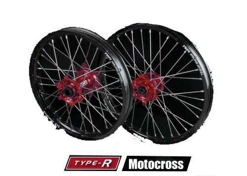 TGR TECHNIX GEAR TGRテクニクスギア TYPE-R Motocross(モトクロス)用ホイール(前後セット) CRF250 RALLY CRF250M CRF250L
