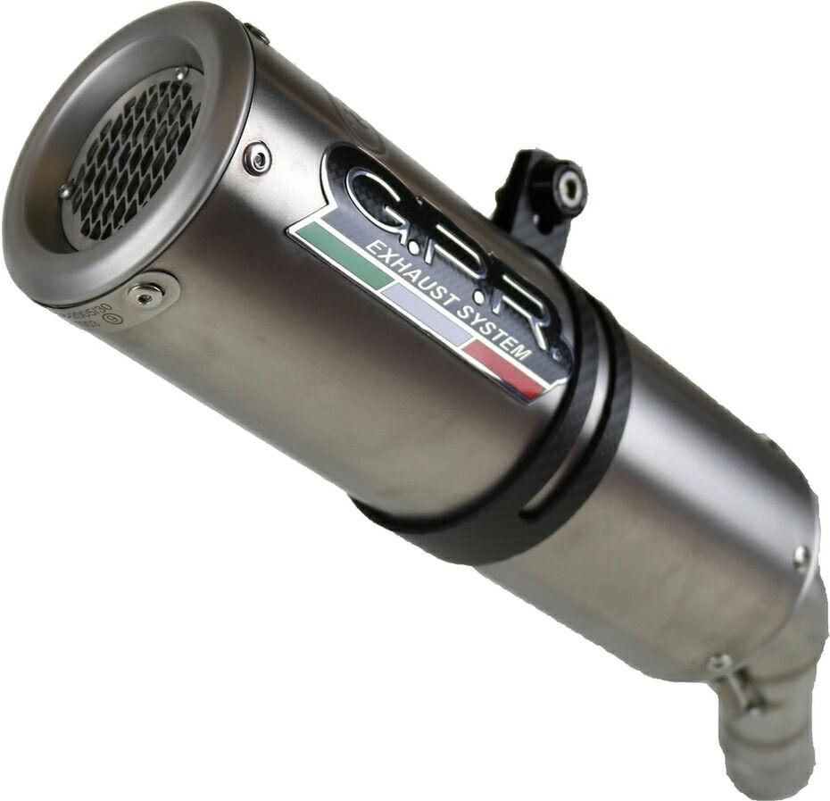 GPRジーピーアール スリップオンマフラー本体 HOMOLOGATED スリップオンマフラー GPR OUTLET SALE 600 CBR F 国産品 ジーピーアール