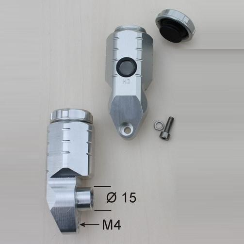 GSG MOTOTECHNIK MOTOTECHNIK GSGモトテクニック その他ブレーキパーツ GSG リアブレーキマスター用オイルタンク CBR600RR カラー:ブラック CBR600RR, ペットランド(PETLAND):863945b9 --- sunward.msk.ru