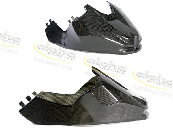 alpha Racing アルファレーシング カーボン タンクカバー ショート S1000RR