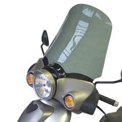 SECDEM セクデム ハイプロテクション・スクリーン カラー:ライトスモーク SCARABEO125 [スカラベオ] GT125 04-06