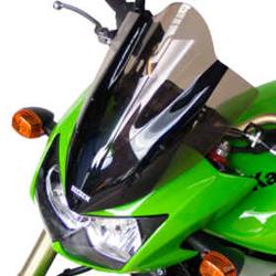 SECDEM セクデム ハイプロテクション・スクリーン カラー:ライトスモーク KLE400 KLE500