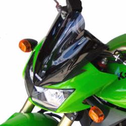SECDEM セクデム スタンダード・スクリーン カラー:ライトスモーク KLE400 KLE500