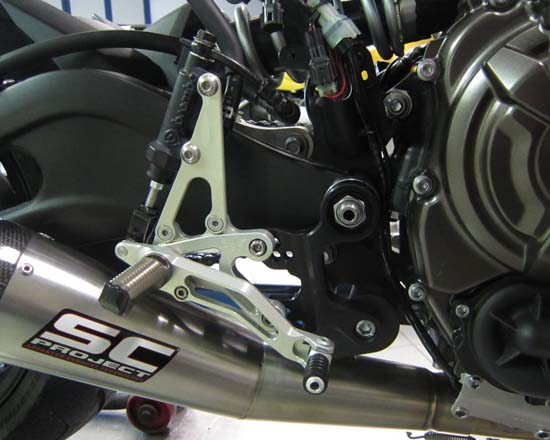 Robby Moto Engineering ロビーモトエンジニアリング バックステップ EVO [エボ] モデル MT-07