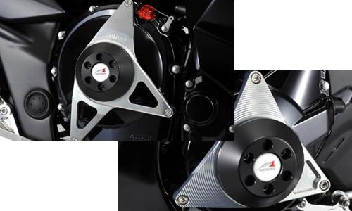 AGRAS アグラス ガード・スライダー レーシングスライダー ジュラコンカラー:ホワイト バンディット1250 バンディット1250F バンディット1250S