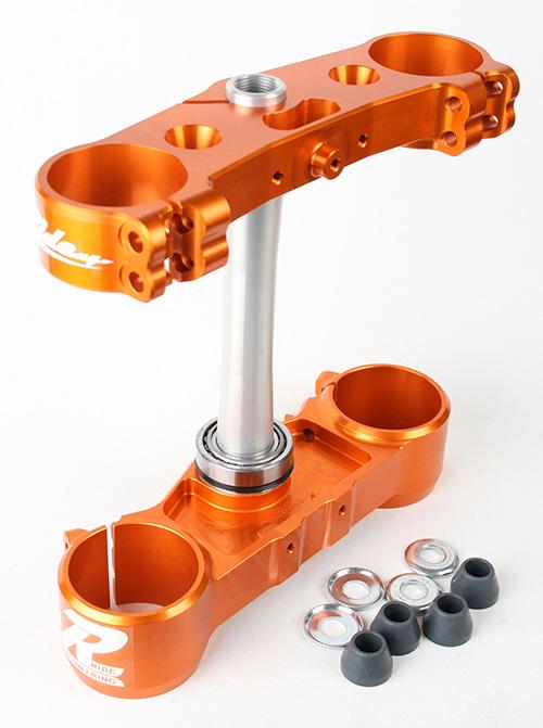 Ride Engineering ライドエンジニアリング トップブリッジ トリプルクランプキット 19mmオフセット