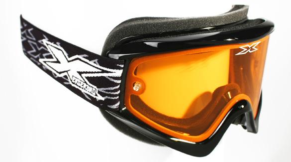 EKS Brand イーケーエスブランド GOX SNOW XXXX スノーモービル用ゴーグル フレームカラー:ブラック