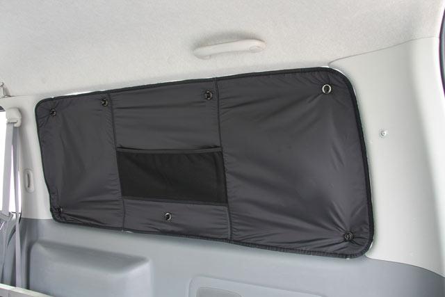 オグショー OGUshow トランポ用品 200系ハイエース ESプライバシーパッド 車種・ボディサイズ・ドア数:4型標準5ドア(左右小窓付き) 装着位置:リア5面セット(スーパーロングは7面) 200系ハイエース