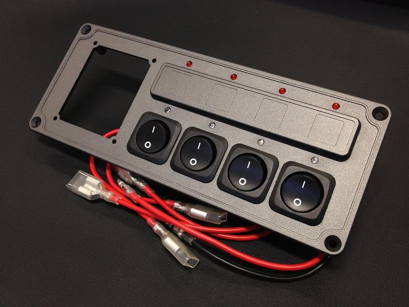 オグショー OGUshow 4連スイッチ 12V車用 汎用