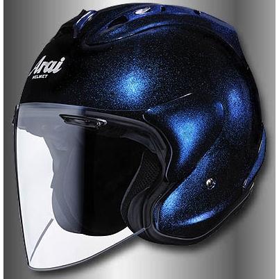 Arai アライ ジェットヘルメット SZ-RAM4 [エスゼット ラム4 グラスブルー] ヘルメット サイズ:XS(54cm)