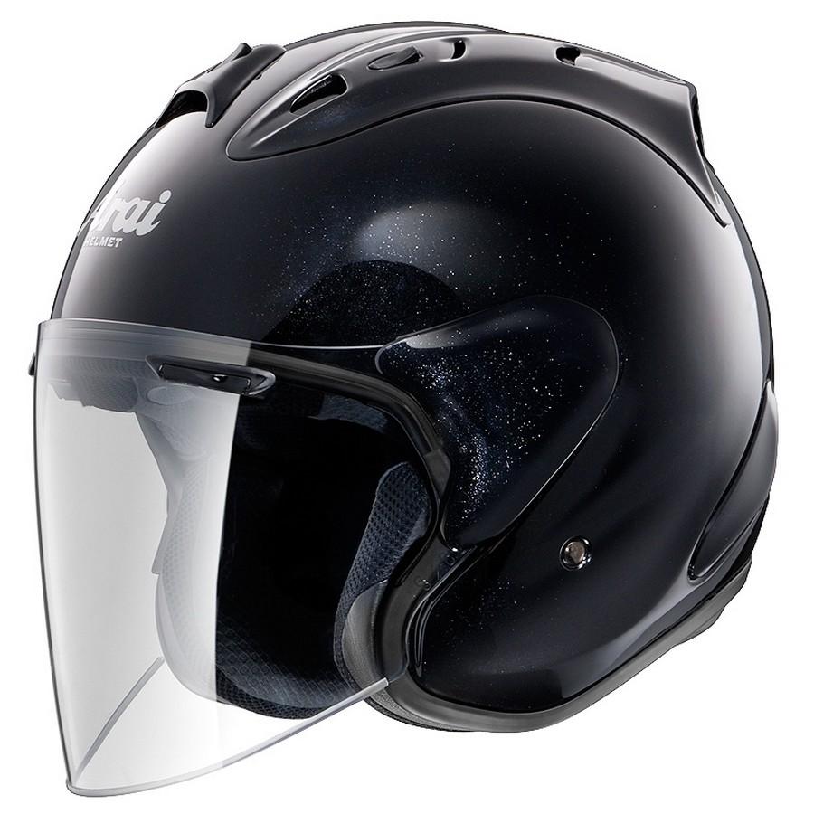 【在庫あり】Arai アライ ジェットヘルメット SZ-RAM4 [エスゼット ラム4 グラスブラック] ヘルメット サイズ:S(55-56cm)