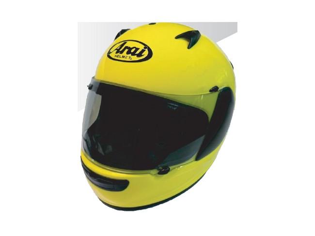 Arai アライ フルフェイスヘルメット QUANTUM-J [クアンタム-J マックスイエロー] ヘルメット サイズ:M(57-58cm)