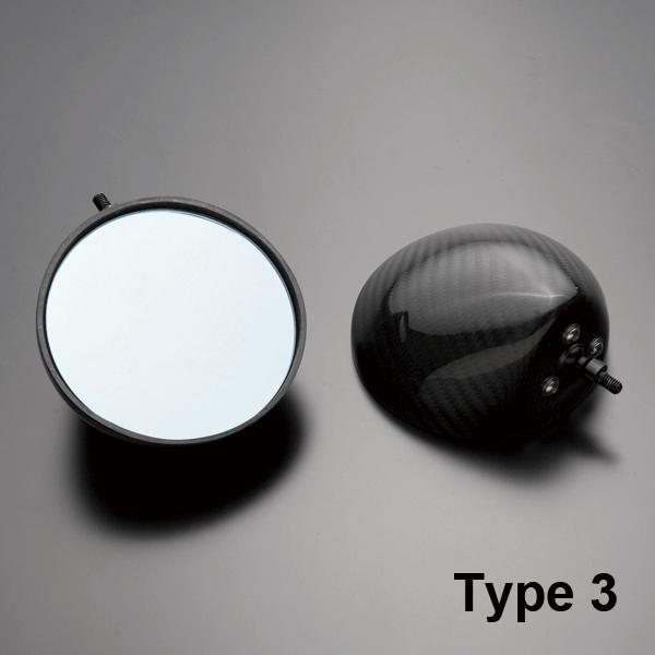 A-TECH エーテック カーボンミラーヘッド Type-3