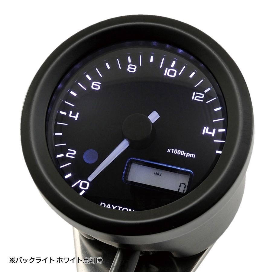 【在庫あり】DAYTONA デイトナ VELONA 電気式タコメーター Ф48 15000rpm