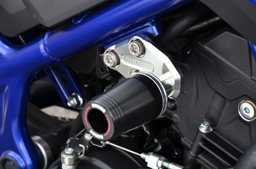 AGRAS アグラス ガード・スライダー レーシングスライダー ジュラコンカラー:ホワイト ロゴ:無し MT-25