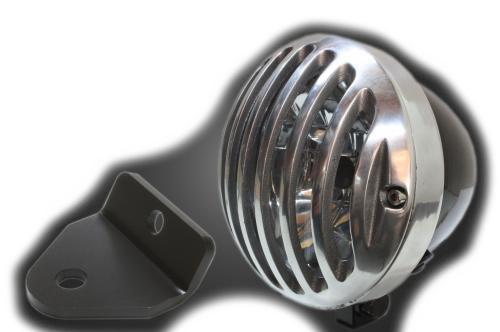 ガレージT&F 4.5インチバードゲージヘッドライト&ライトステー(タイプH)キット マグナフィフティー