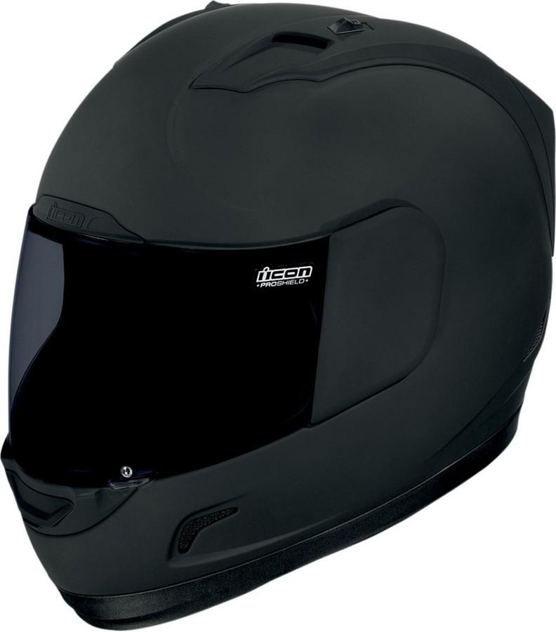 ICON アイコン フルフェイスヘルメット ALLIANCE DARK HELMET [アライアンス・ダーク・ヘルメット]【BLACK RUBATONE】 サイズ:2X(63-64cm)