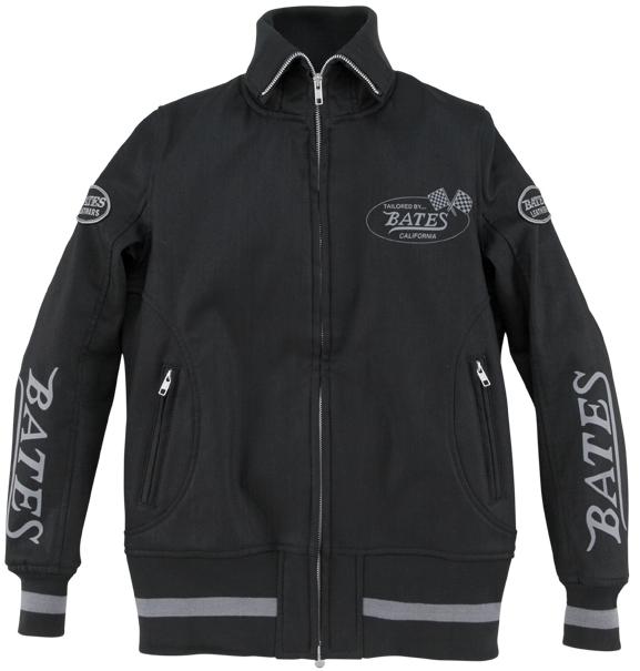 BATES ベイツ ライディングジャケット 12oz ストレッチデニムジャケット サイズ:レディースL