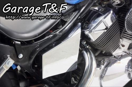 ガレージT&F クラッチ メッキサイドカバーキット ビラーゴ250(XV250)