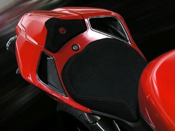 MOTO CORSE モトコルセ カーボン シートフェアリングエアダクトセット グロスフィニッシュ 848 DUCATI 1098 1198