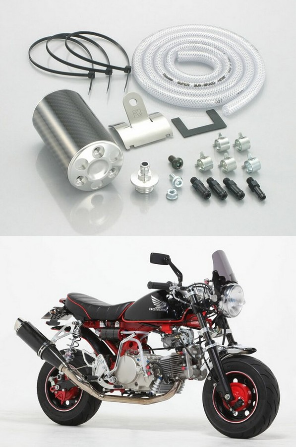 キタコ KITACO カーボンオイルキャッチタンク タイプ X エイプ100 エイプ100 エイプ100 タイプD エイプ100 タイプD エイプ50