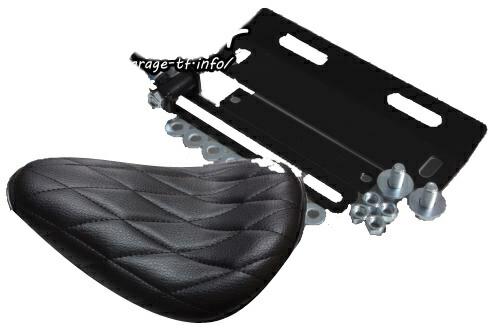 ガレージT&F シート本体 ソロシート&リジットマウントキット バルカン400 バルカン400II バルカンクラシック400