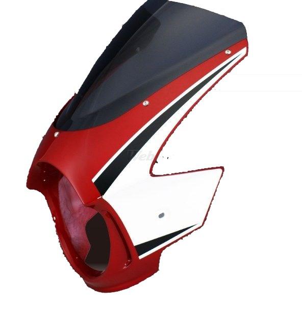 Force-Design フォルスデザイン ビキニカウル・バイザー ビキニカウル エンデュランススクリーン カラー:パールヘロンブルー スクリーンカラー:スモーク CB400SF VTEC II 02