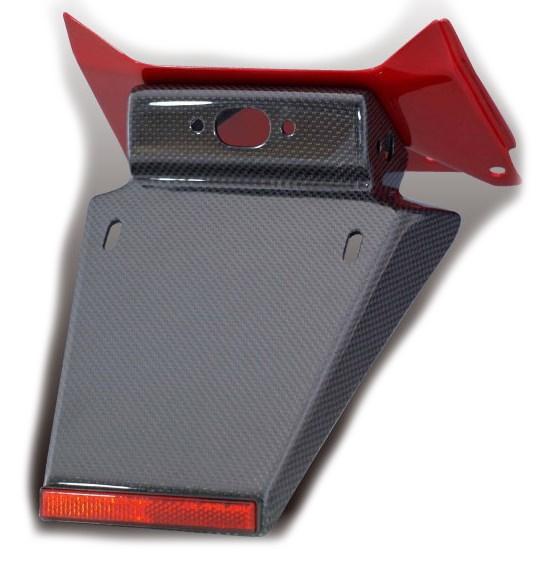 Force-Design フォルスデザイン フェンダーレスキット【セット】 ベースタイプ:パールプリズムブラック 塗装済み CB400スーパーフォア