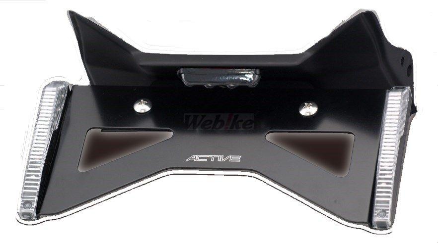 Force-Design フォルスデザイン フェンダーレスキット【セット】 ウインカーカラー:スモーク ベースタイプ:マットブラック CB1300スーパーツーリング