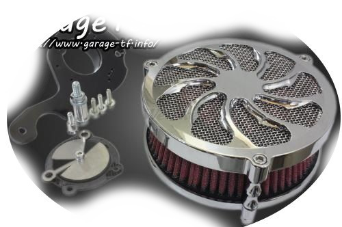 ガレージT&F エアクリーナー・エアエレメント ラグジュアリーエアクリーナーキット タイフーン ドラッグスター 250