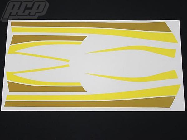 ACP エーシーピー ステッカー・デカール ラインステッカーセット Z400 FX Z400 J