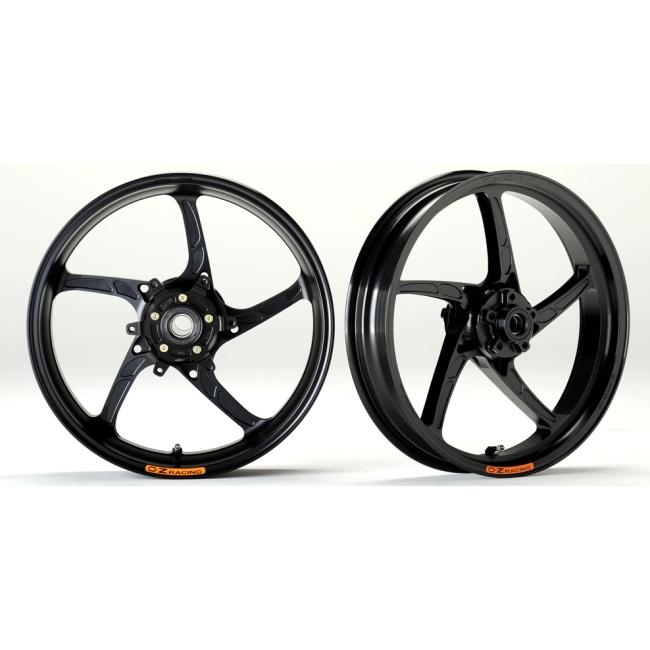 OZレーシング ホイール本体 OZ-5S PIEGA アルミ鍛造ホイール カラー:ブラックアルマイト CB1300スーパーフォア