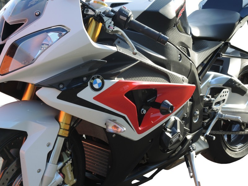 RDmoto アールディーモト ガード・スライダー Crash protectors Colour of car:black polyamid Z250 SL 2014-