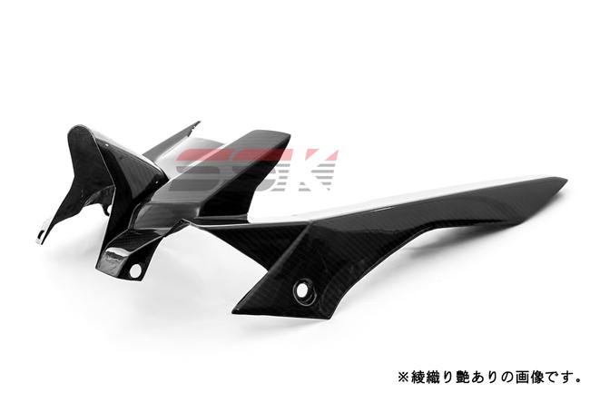 SSK エスエスケー リアフェンダー 純正形状 ドライカーボン 素材:平織り艶あり MT-07