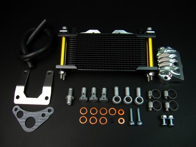 MINIMOTO ミニモト オイルクーラー本体 エアクラッシュオイルクーラーセット16段タイプ1