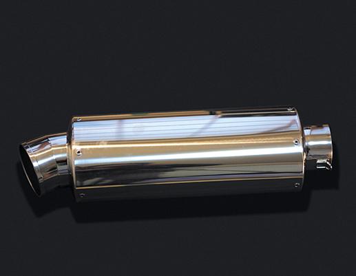 HOT LAP ホットラップ バッフル・消音装置 汎用サイレンサー オーバル中 サイズ:差込内径Φ60.5 タイプ:ストレート構造 長さ:300mm