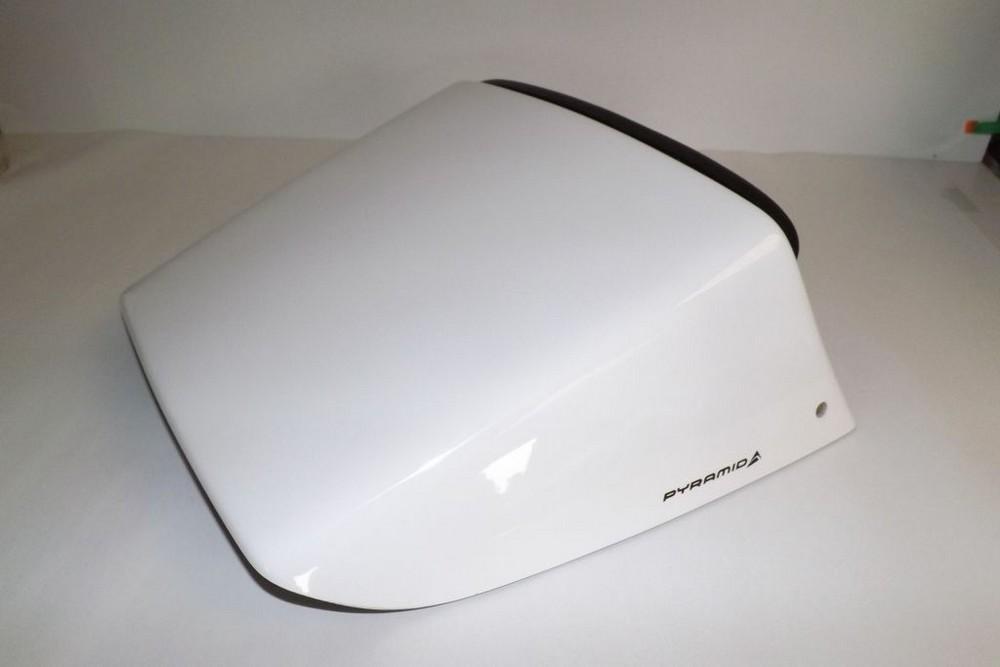 Pyramid Plastics ピラミッドプラスチック シートカウル ソロ・シート・カウル(Solo Seat Cowl) カラー:White CBR600 1991-1996