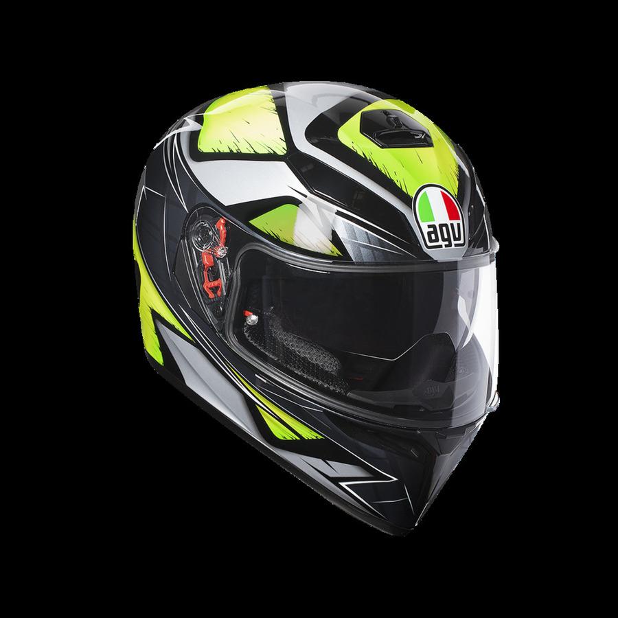 AGV エージーブイ フルフェイスヘルメット K-3 SV ヘルメット (JIST MULTI) サイズ:XL(61-62cm)