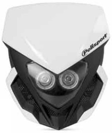 POLISPORT ポリスポーツ ルーコスヘッドライト+バッテリー【LOOKOS HEADLIGHT+BATTERY】