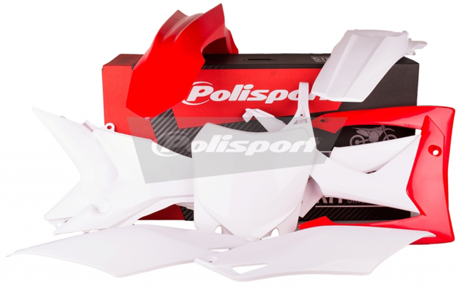【在庫あり】【イベント開催中!】 POLISPORT ポリスポーツ フルカウル・セット外装 MX コンプリートキット (フルセット外装) CRF250R CRF450R