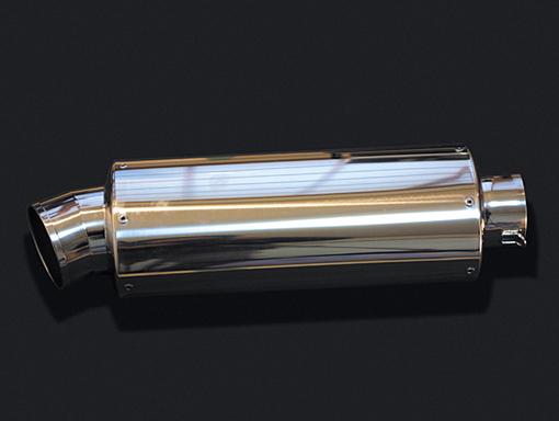 HOT LAP ホットラップ バッフル・消音装置 汎用サイレンサー オーバル中 サイズ:差込内径Φ60.5 タイプ:パンチングプレート入り 長さ:300mm