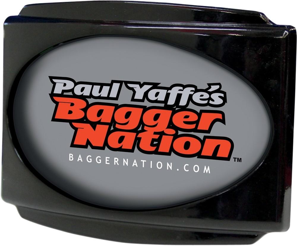 PAUL YAFFE BAGGER NATION ポールヤフー バガーネイション ナンバープレート関連 フレーム ライセンスステルス 3 CVO ブラック 【FRAME LCN STLTH3 CVO BLK [2030-0617]】