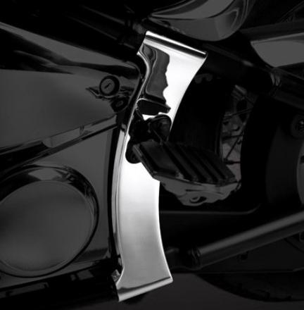 KENTEC ケンテック クロームメッキフレームカバー バルカン900カスタム バルカン900クラシック