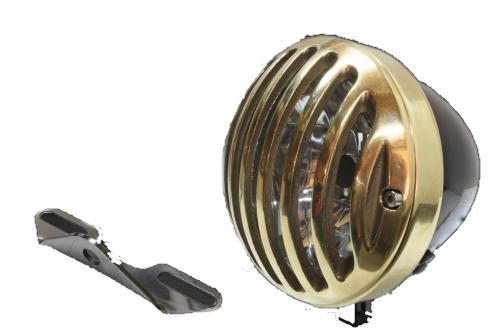 ガレージT&F 4.5インチバードゲージヘッドライト&ライトステー(タイプB)キット イントルーダークラシック400