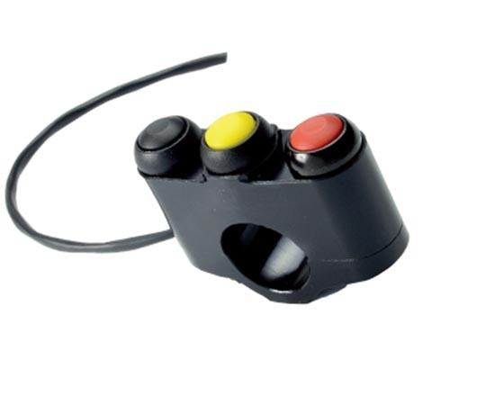 ACCOSSATO アコサット ハンドルスイッチ 汎用スイッチパネル 3ボタン