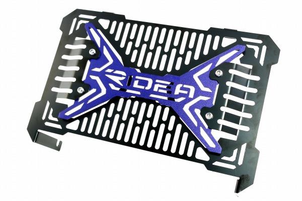 リデア ラジエーター関連部品 RIDEA ラジエーターコアガード カラー:ブルー YZF-R25 YZF-R3