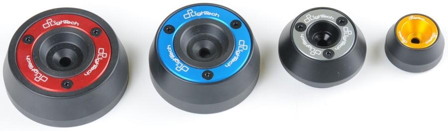 LighTech ライテック ガード・スライダー ホイールアクスルスライダー カラー:レッド ZX10R 11-16 ZX6R 07-12