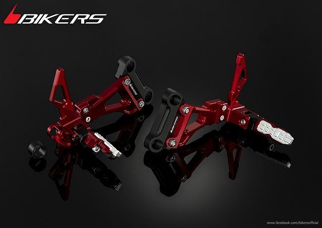 BIKERS バイカーズ リアフットレスト CB300F CB500F CB500X CB500X CBR250R CBR300R CBR500R